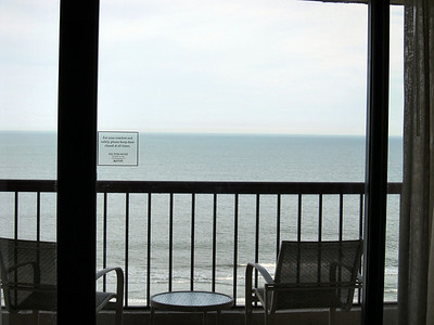 Marriott Hilton Head Island Resort - view of ocean from my room