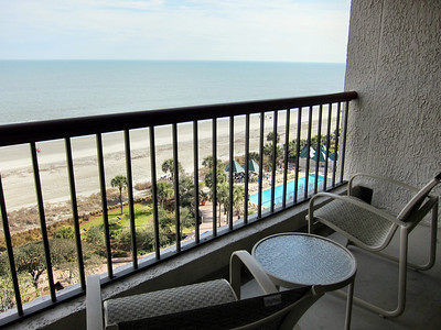 Marriott Hilton Head Island Resort - my balcony