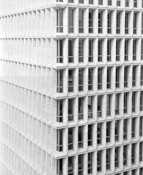 Atlanta, Georgia in Black and White