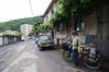 Leaving our homestay in Borjomi