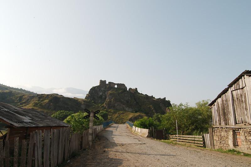 Ruins of Atskuri on the Akhaltsikhe-Borjomi road