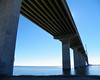 Brunswick River, the Sydney Lanier Bridge -