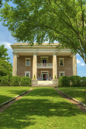 The Gordon Lee Mansion in Chickamauga, GA