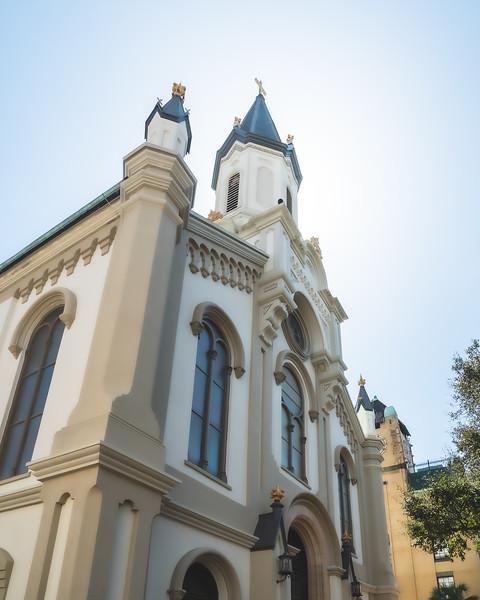 Lutheran Church of Ascension in Savannah Georgia