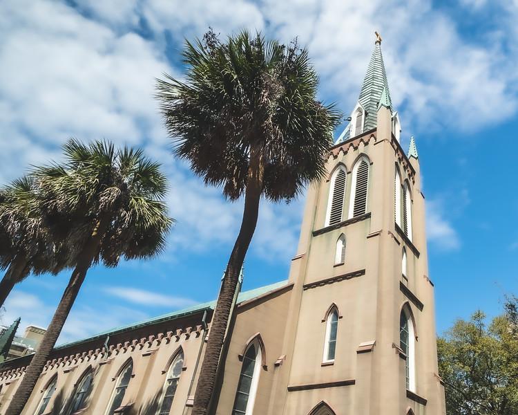 St. John's Episcopal Church in Savannah Georgia