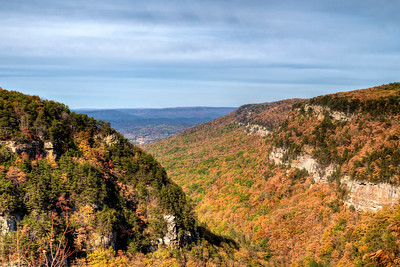 Scenic Overlook at Cloudland Canyon State Park