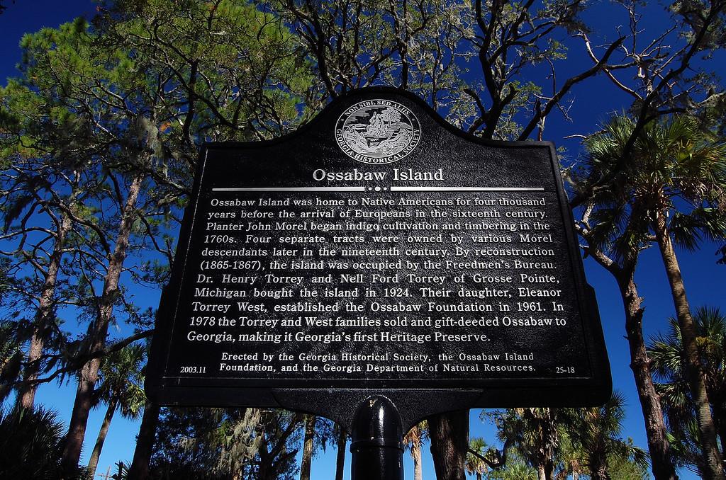 Ossabaw Island, GA (Chatham County). 2007