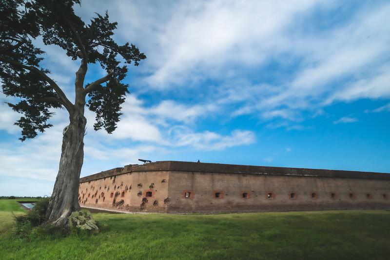 Fort Pulaski National Monument on Cockspur Island Georgia