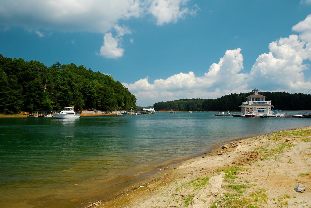 Lake Lanier, GA (Gwinnett County) August 2011