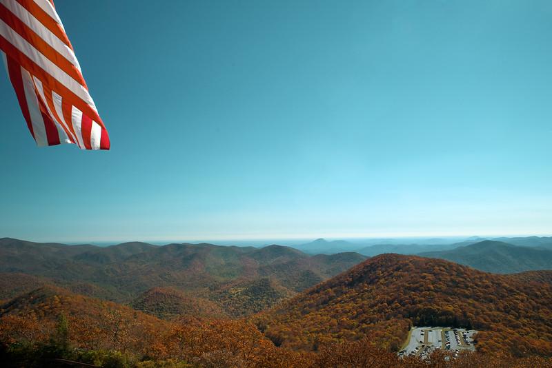 Brasstown Bald, GA (Towns County) October 2014