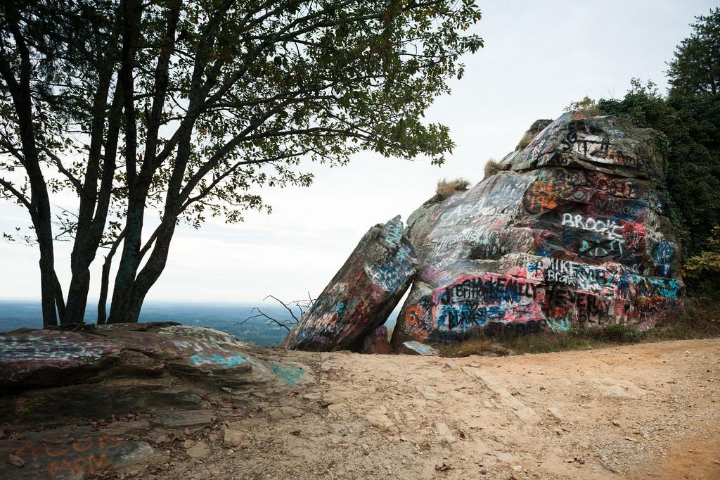 Currahee Mountain, GA (Stephens County) October 2015
