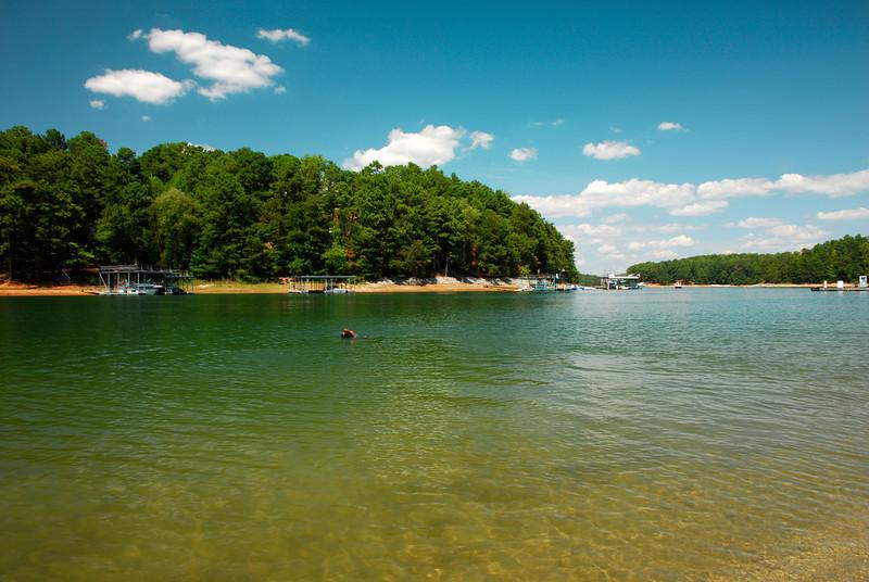 Lake Lanier, GA (Gwinnett County) September 2011