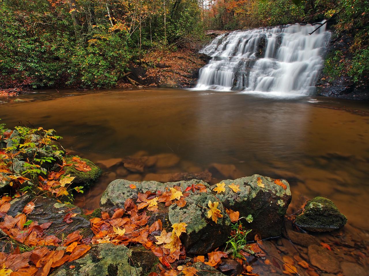 Lower Black Falls Of The Etowah - 1