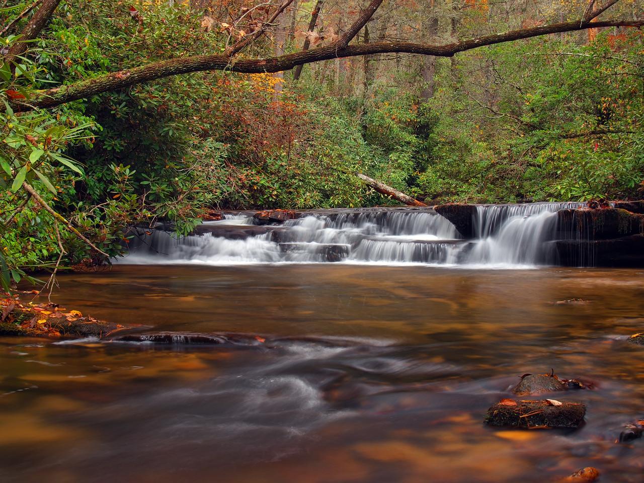 Stonewall Creek Middle Falls - 1