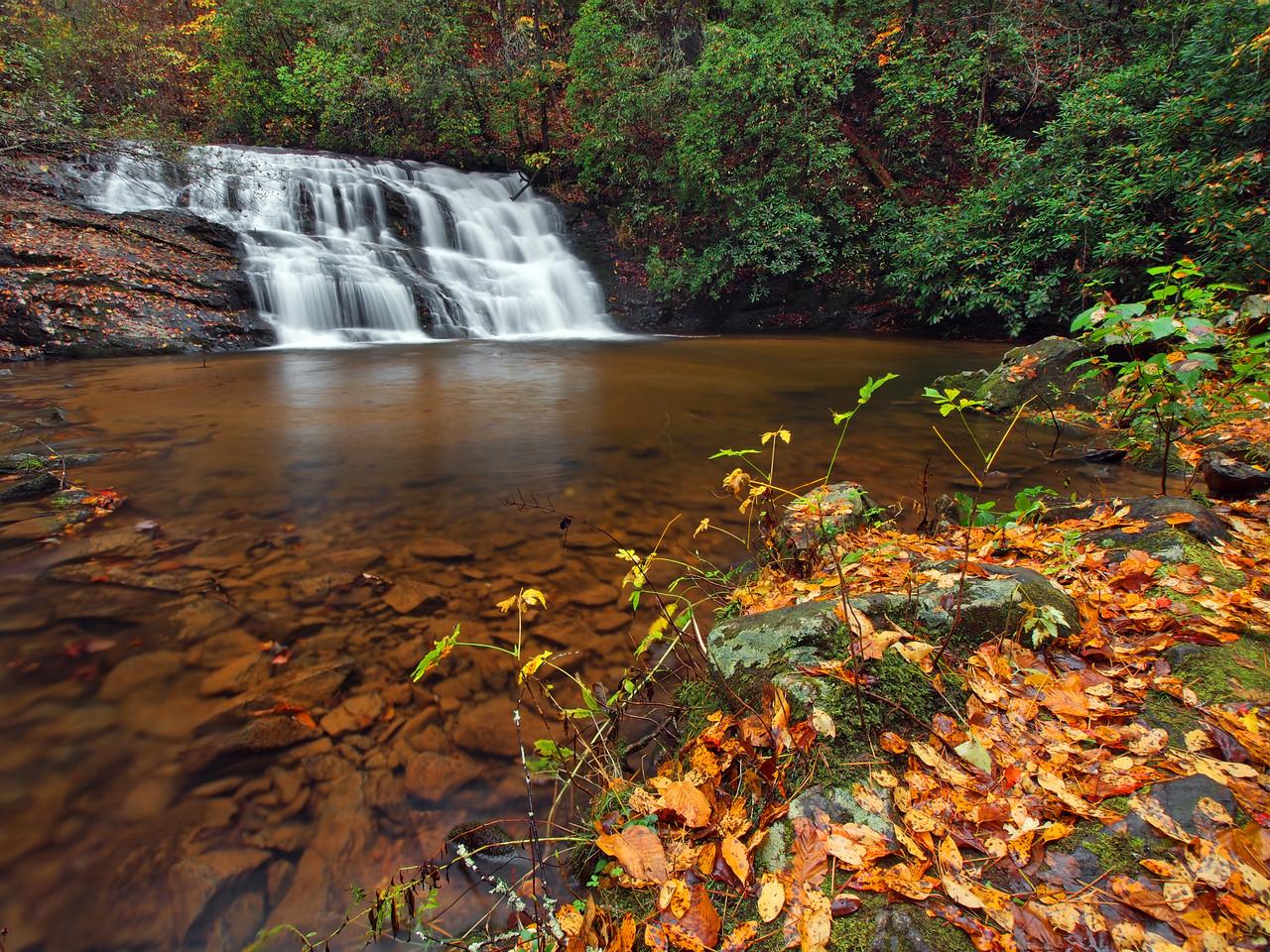 Lower Black Falls Of The Etowah - 2