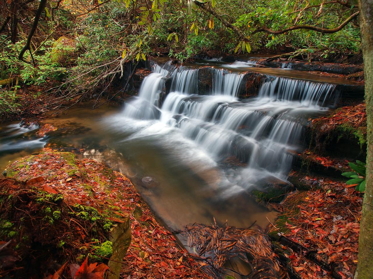 Crow Creek Falls Lower - 1
