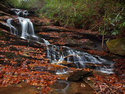 Becky Branch Falls - 1