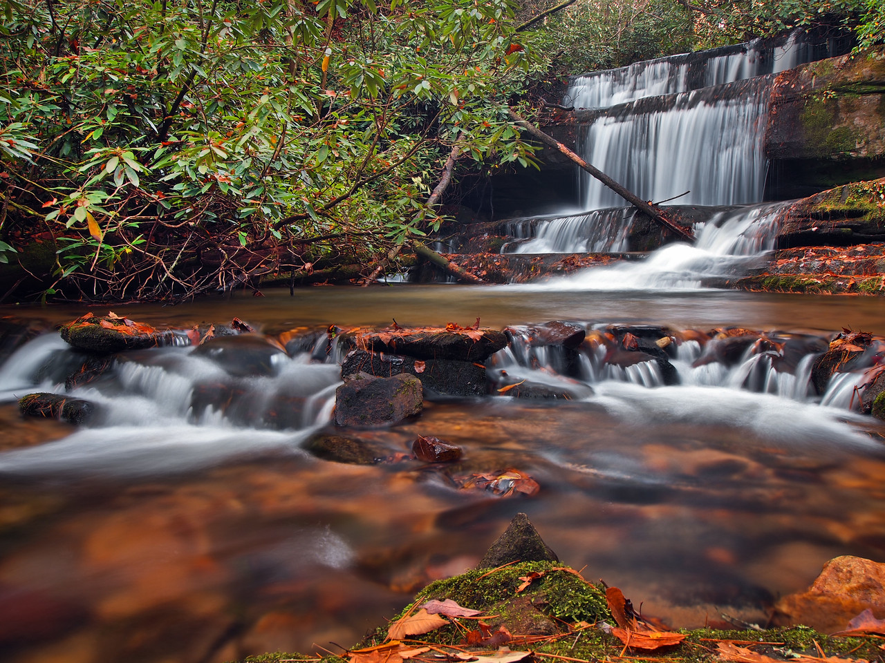 Crow Creek Falls - 1