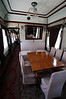 Meeting room inside Stalin's train car
