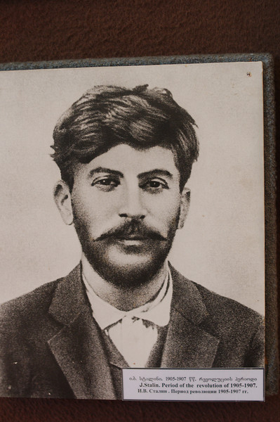 Photo of a young Stalin