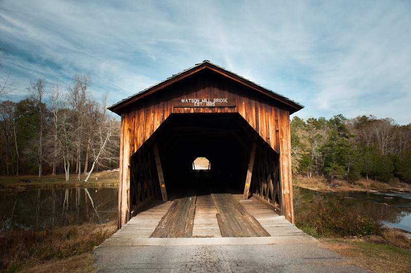 Watson Mill Bridge State Park, GA (Madison County) November 2017