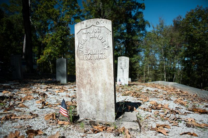 Kettle Creek Battlefield, GA (Wilkes County) October 2015