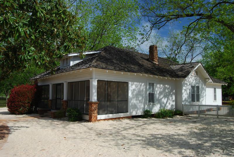 Jimmy Carter Boyhood Home near Plains, GA (Sumter County) April 2008