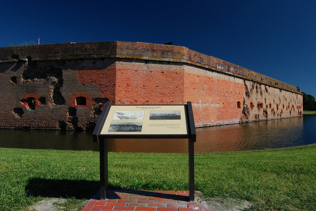 Fort Pulaski National Monument, Chatham County (GA) April 2008
