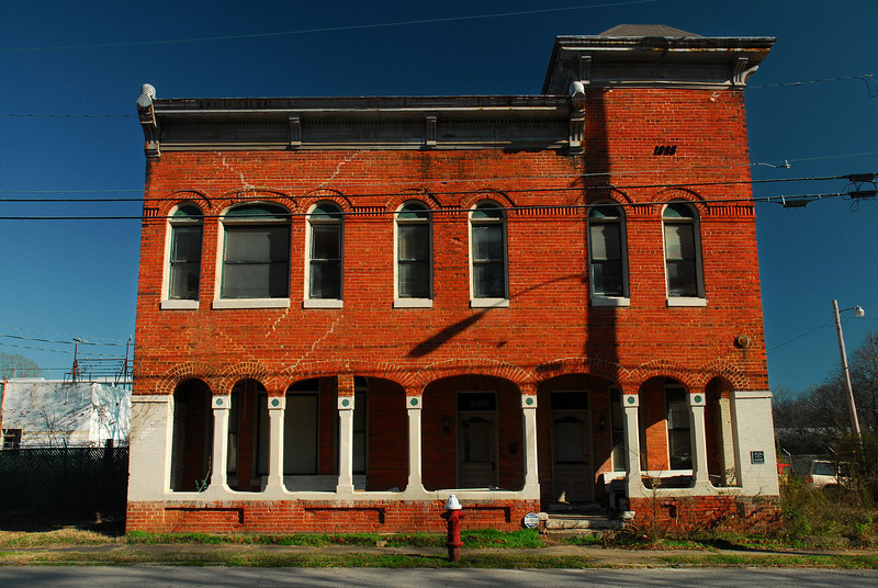 Washington, GA (Wilkes County) January 2010<br /> <br /> This former hotel sits on Depot Street near the Washington, GA depot and railroad line. Its plaque says it was built in 1898 by Edward F. Barrows, and opened in 1899.