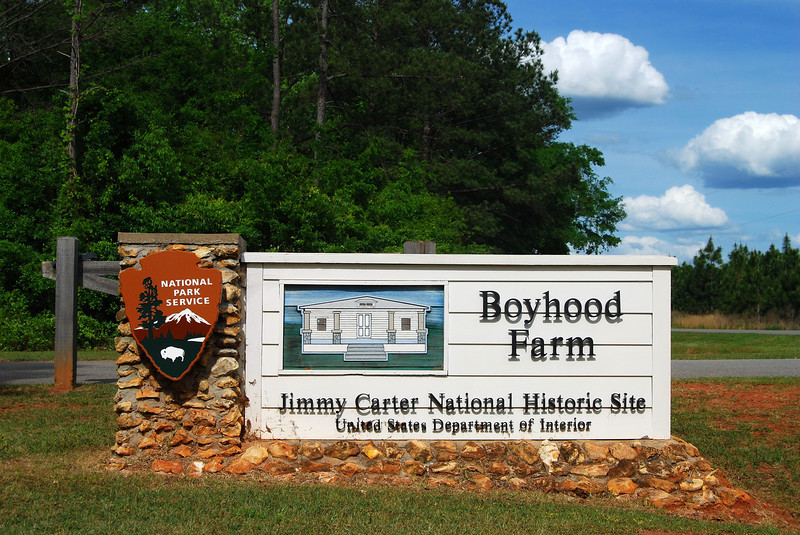 Jimmy Carter Boyhood Farm near Plains, GA (Sumter County) April 2008