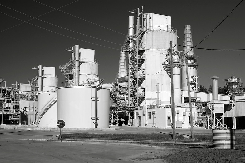 Kaolin plant in Washington County (GA) 2007