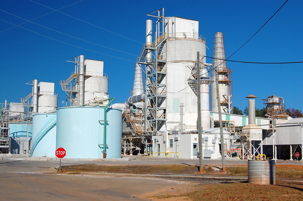 Kaolin plant in Washington County (GA) 2007