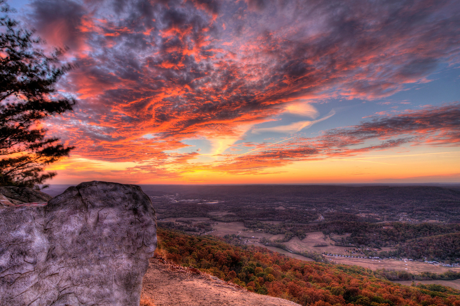 Sunset on Lookout Mountain, GA