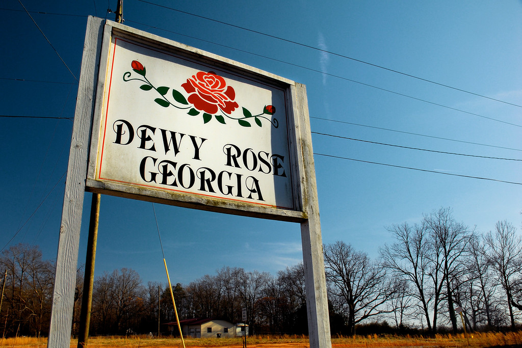 Dewy Rose, GA (Elbert County) February 2010