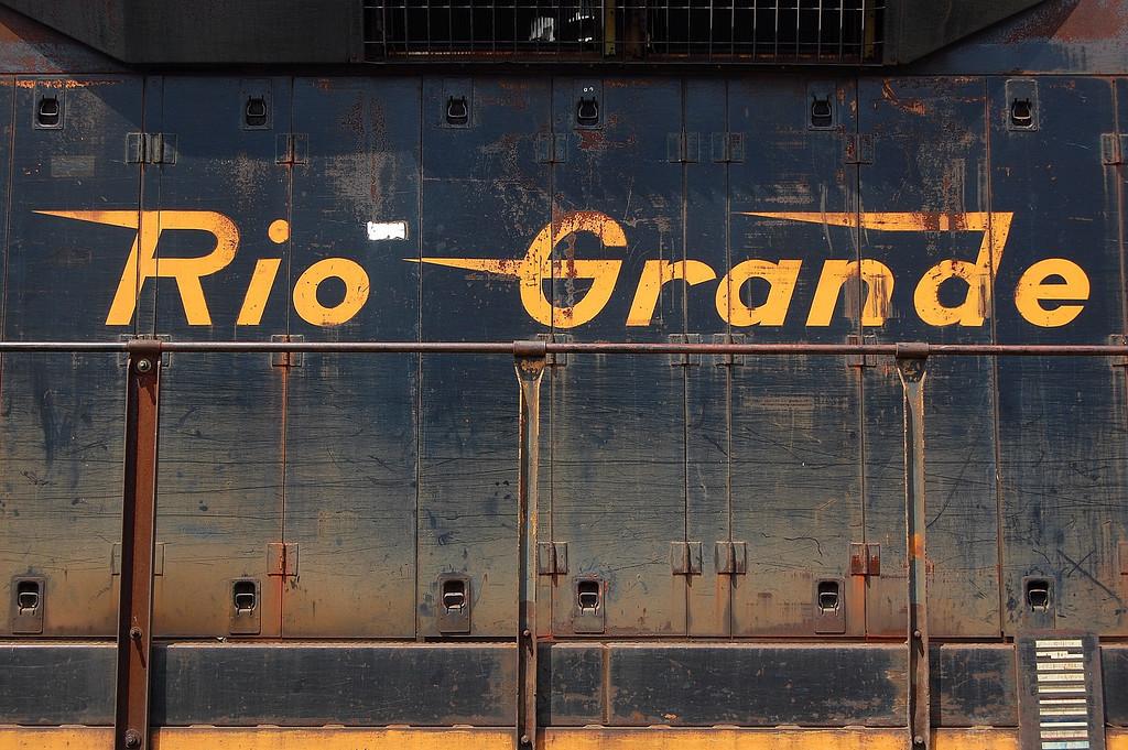 Locomotive in Lavonia, GA (Franklin County). 2007