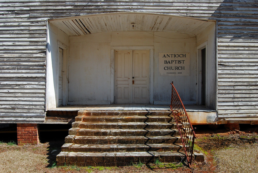 Antioch Baptist Church, Taliaferro County (GA). 2008