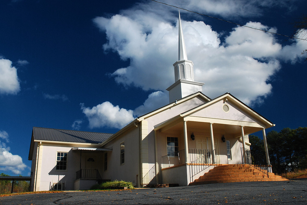 Sandy Creek Baptist Church, GA (Clarke County) November 2008