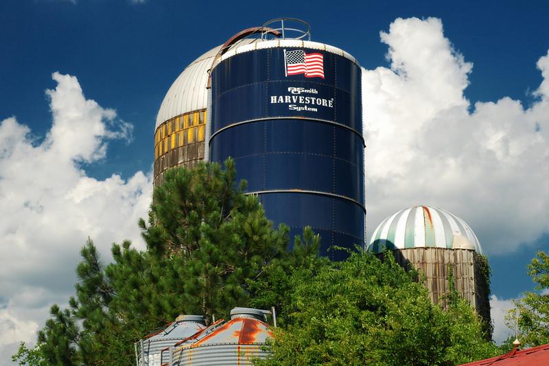 Abandoned dairy farm, Morgan County (GA) June 2008