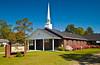 The First Baptist Church in Willacoochee, Georgia, USA, America.