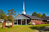 The First Baptist Church in Willacoochee, Georgia, USA, America.