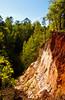 Providence Canyon, Georgia, USA, America.
