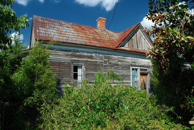 Abandoned house in Oglethorpe County (GA) August 2008