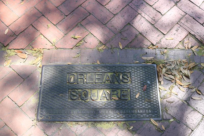 Orleans Square Signage