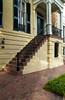Colonial architecture in Savannah, Georgia, USA, America.