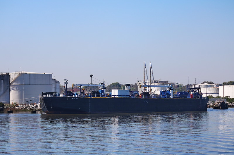 Freighter at the Port of Savannah