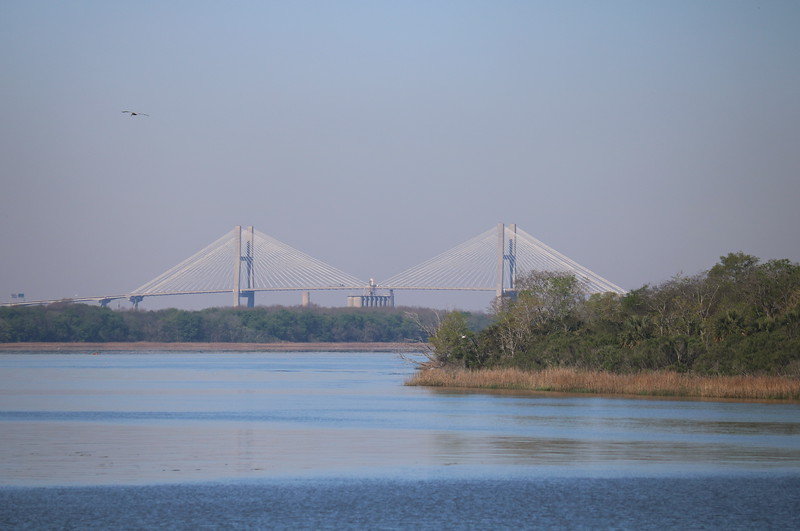 Savannah River Meets the South Carolina Intracoastal Waterway