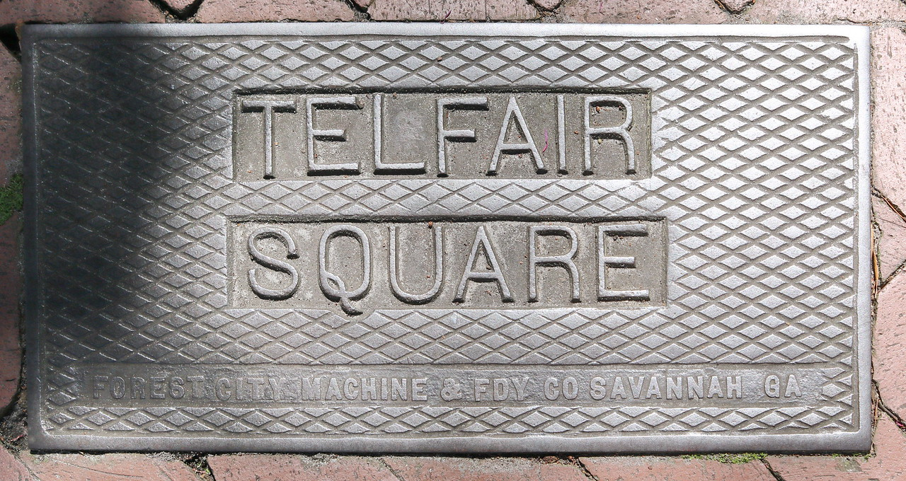 Telfair Square Signage