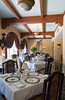 Interior decor of the Cloister Resort dining room on St. Simon Island, Sea Island, Georgia, USA