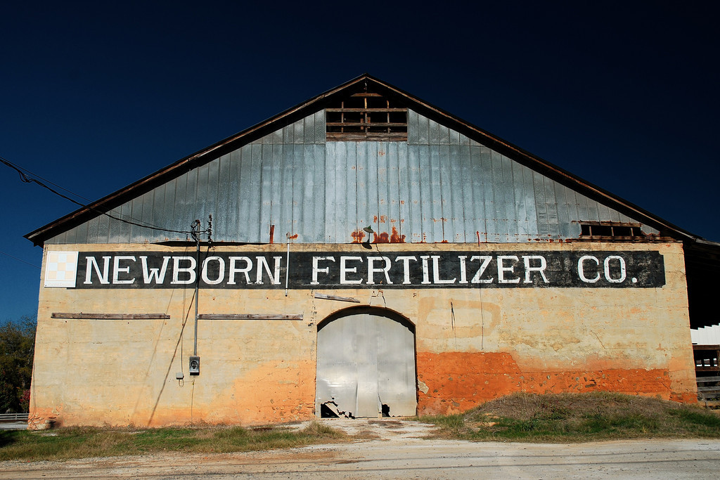 Abandoned Building In Newborn GA Newton County November 2008