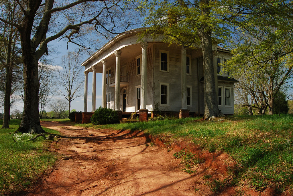 An old mansion near Bostwick, GA (Morgan County) 2008